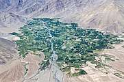 City of Ladakh Aerial View