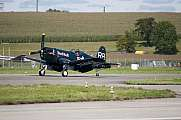 Chance Vought F4U-4 Corsair Red Bulls OE-EAS