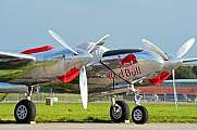 Lockheed P38L Lightning Air14 Redbull Static Display