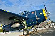 Grumman TBM-3E Avenger Air14 Static Display side