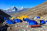 Island Peak base camp Arakam Tse Cholatse Tabuche Peak