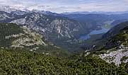 Bohinj Lake and Bohinj valley surrounded by Julian Alps