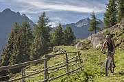 Mountainbiketour in  den Ötztaler Alpen