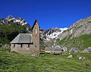 Old chapel on the Meglisalp