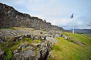 Almannagja Thingvellir National Park Bruchzone
