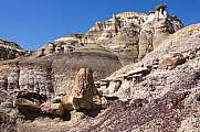 Sandstein-Formationen in  Ah-Shi-Sle-Pah Wilderness Study Area, New Mexico, USA