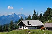 Kohler Alm mountain hut near Inzell