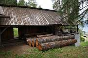 sawmill driven by water