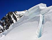 Ice Tower Seracs Mont Blanc