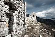 Rocca Sparviera ghost village  alpes maritimes entry