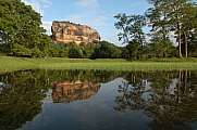 The Palace rock of Sigiriya Sri Lanka