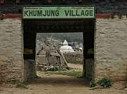 Entrance of Khumjung