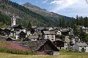 The village of Bosco Gurin
