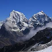 Mount Cholatse and Taboche Peak