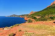 Cap Roux am Esterel Massiv