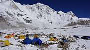Baruntse Base Camp, Himalaya