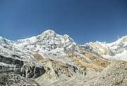 annapurna south from abc viewpoint