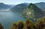 Monte San Salvatore at the Luganersee