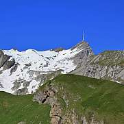 Mt Santis in spring