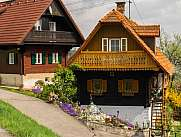 Typical Wooden house in Styria Austria