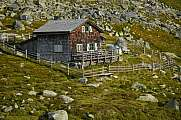 Gruenseehuette at Hohe Tauern national park