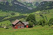 Old timber house in the Toggenburg valley