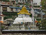 Stupa in Namche Bazaar, Everest Region