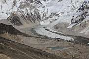 Curve of the Khumbu glacier