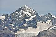 Dent Blanche Grand Cornier from Rothorn Paradise