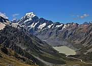 Mt Cook in summer