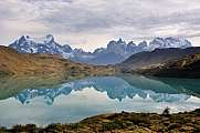Am Rio Pehoe, Torres del Paine, Chile