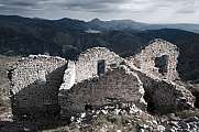 Rocca Sparviera ghost village  alpes maritimes 3 houses