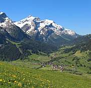 Spring time in the Swiss Alps