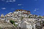 Thiksey Gompa buddhistic houses