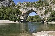 Pont d'arc in der Ardeche