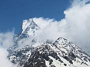 Machapuchare and Mardi Himal Fishtail Mountain
